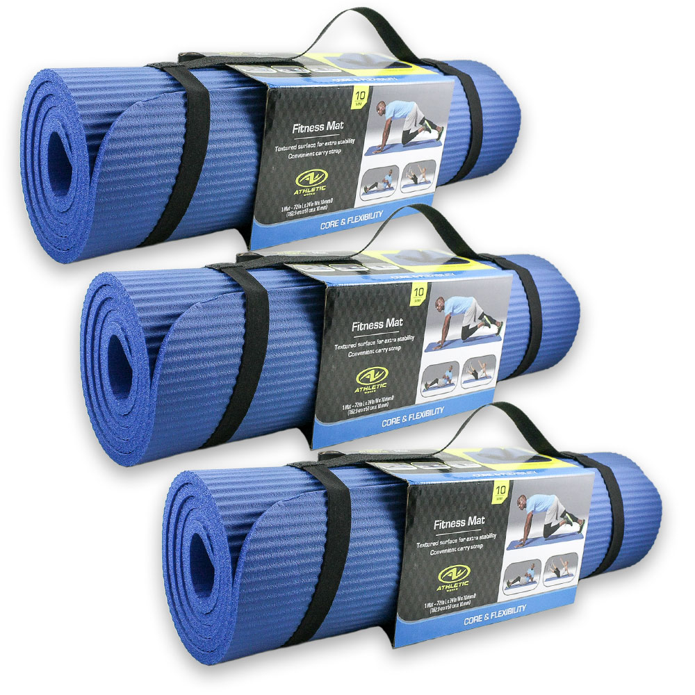 Athletic-works-blue-10mm-fitness-mat